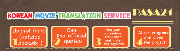 Korean Movie Translation Service
