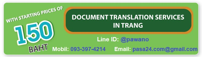 online translation service for customers in Trang