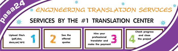 ENGINEERING TRANSLATION SERVICES BY THE #1 TRANSLATION CENTER