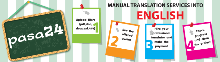 Manual Translation Services into English
