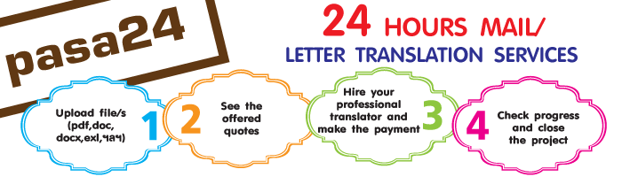 24 Hours Mail/Letter Translation Services