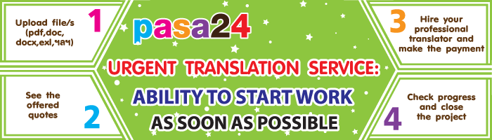 Urgent Translation Service: Ability to start work as soon as possible