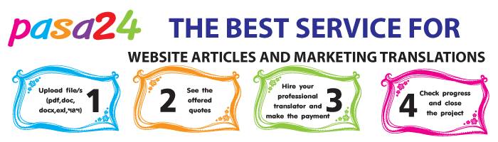THE BEST SERVICE FOR WEBSITE ARTICLES AND MARKETING TRANSLATIONS